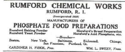 anúncio de rumford 2